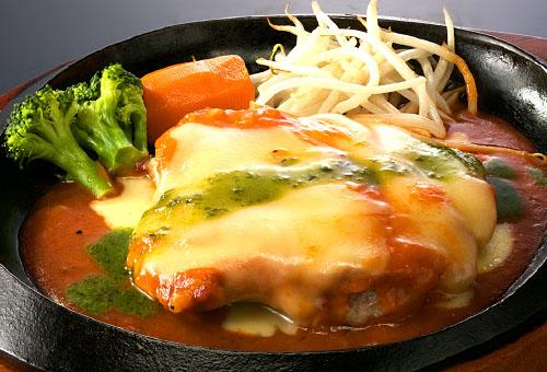 桜姫鶏のトマトバジル -ゴーダチーズのせ-